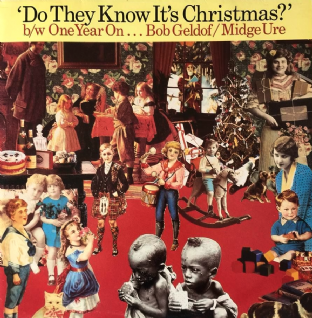 "Band Aid - Do They Know It's Christmas? (1985) (12"") (EX/VG+)"